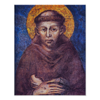 ST FRANCIS OF ASSISI. POSTER