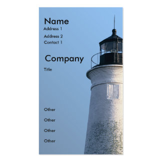 St Marks Lighthouse Pack Of Standard Business Cards