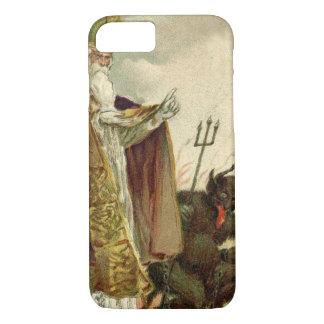 St Nicholas Krampus Pitchfork Priest iPhone 7 Case