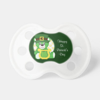 St. Patrick's Day Bear Pacifiers