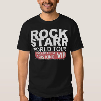 STALYON ROCK STARR JESUS VIP TEES
