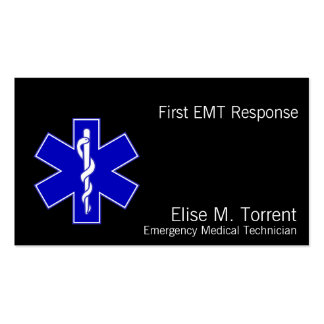 Star of Life Pack Of Standard Business Cards