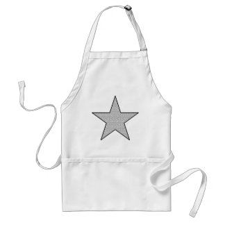 Star Power (Dots) Standard Apron