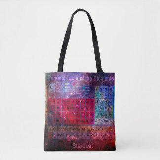 Stardust Periodic table Tote Bag