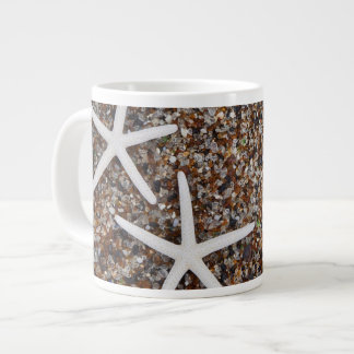 Starfish skeletons on Glass Beach Jumbo Mug