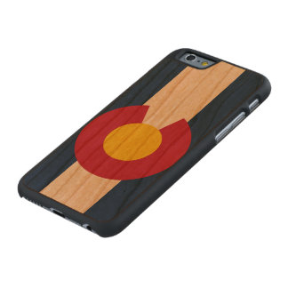 State Flag of Colorado Carved® Cherry iPhone 6 Slim Case
