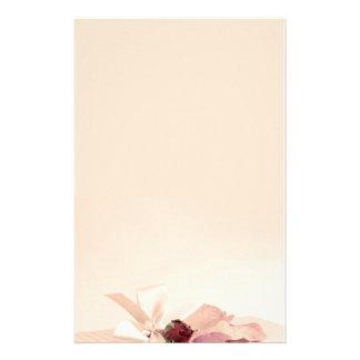 stationery beige rose PAPER