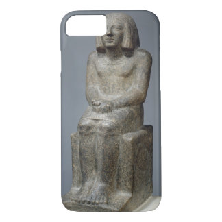 Statue of Ankh, Priest of Horus, Early Dynastic Pe iPhone 7 Case