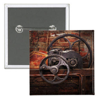 Steampunk - No 10 15 Cm Square Badge