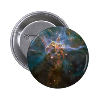 Stellar Spires Eagle Nebula 6 Cm Round Badge