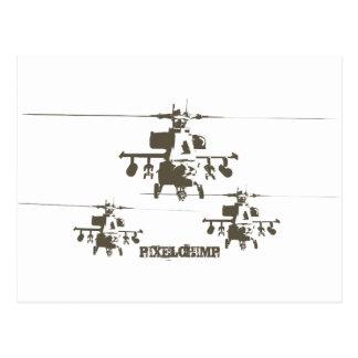 Stencil Apache Group Postcard