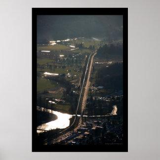 Stevens Pass, Skykomish River, Sultan River Poster