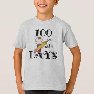 Stick Figure 100 Days Tshirts