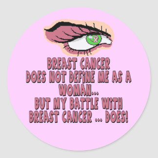 Stickers - Breast Cancer Battle