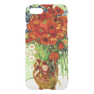 Still Life, Vase with Daisies and Poppies (1890) iPhone 7 Case