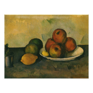 Still Life with Apples by Paul Cezanne Poster