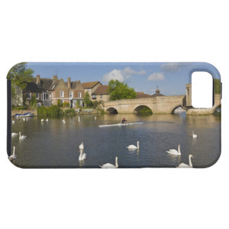 Stone arched bridge and River Ouse, St Ives, iPhone 5 Case