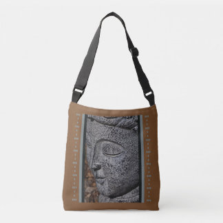 Stone Face Cross Over Bag Tote Bag