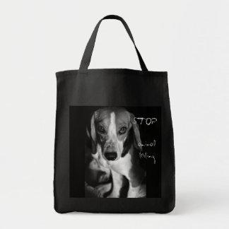 Stop animal testing - Bag