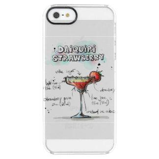 Strawberry Daiquiri Drink Recipe Design Clear iPhone SE/5/5s Case