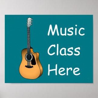 String guitar poster