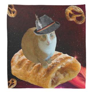 strudel cat bandanna