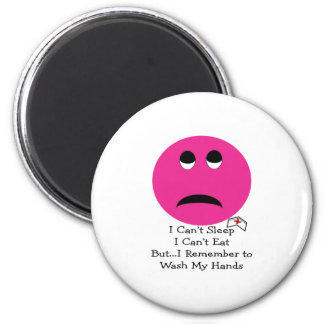 Student Nurse Smiley Face Gifts 6 Cm Round Magnet