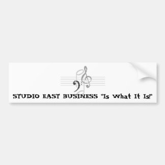 Studio east business, STUDIO EAST BUSINESS Bumper Sticker