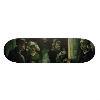 Study for Potato Eaters by Vincent Van Gogh 21.6 Cm Old School Skateboard Deck