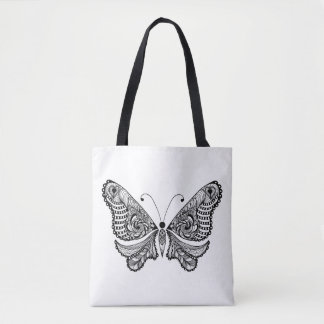Style  Butterfly 2 Tote Bag