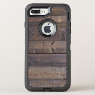 Stylish Wood Look Nature Wood Grain Texture OtterBox Defender iPhone 7 Plus Case