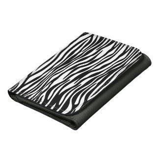 Stylish Zebra Print Wallet