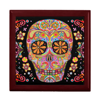 Sugar Skull Gift Box Day of the Dead