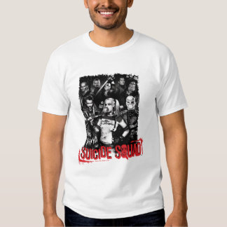 Suicide Squad | Grunge Group Photo Tee Shirts