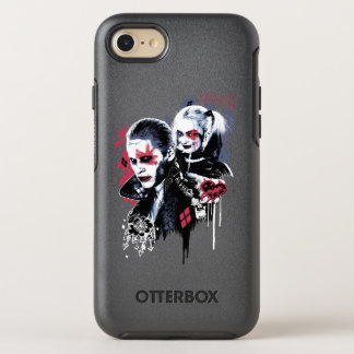 Suicide Squad | Joker & Harley Painted Graffiti OtterBox Symmetry iPhone 7 Case