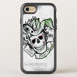 "Suicide Squad | Joker Skull ""All In"" Tattoo Art OtterBox Symmetry iPhone 7 Case"