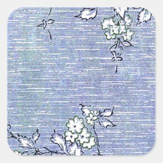 """Suki"" Vintage Wall Paper Square Sticker"