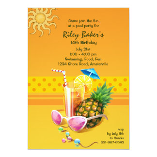 Summer Bliss Invitation