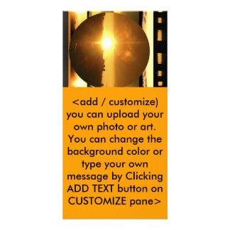 SUN - Source of Vital Energy Customised Photo Card