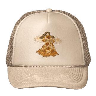 Sunflower Angel Cap