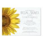 Sunflowers Bridal Shower Invitations