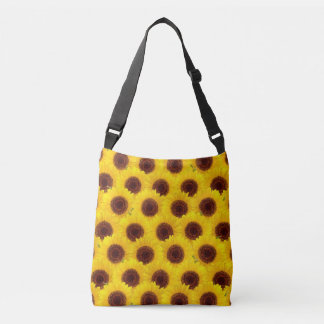 Sunflowers Bright Yellow & Brown Flowers bag Tote Bag