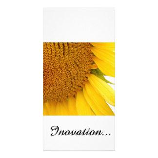 Sunflowers Customised Photo Card