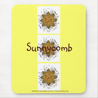 Sunnycomb - Mousepad (yellow)