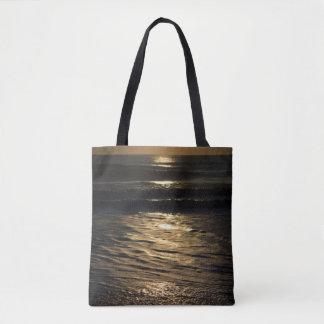 Sunrise In Sepia Tote Bag