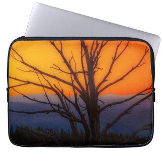 Sunrise Over Yellowstone National Park Design Laptop Sleeve