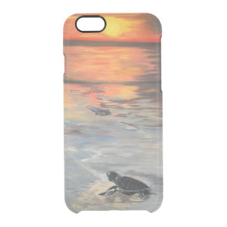 Sunset birth clear iPhone 6/6S case
