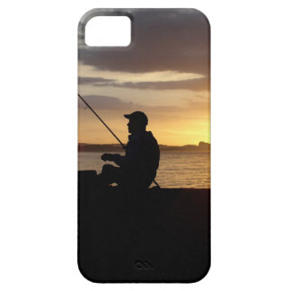 Sunset Fishing Point Of View iPhone 5 Cover