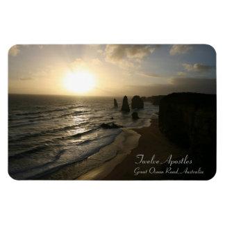 Sunset, Twelve Apostles, Great Ocean Road - Magnet
