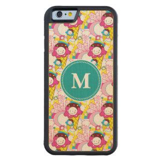 Super Kawaii Ice Cream Cute Patterns Maple iPhone 6 Bumper Case